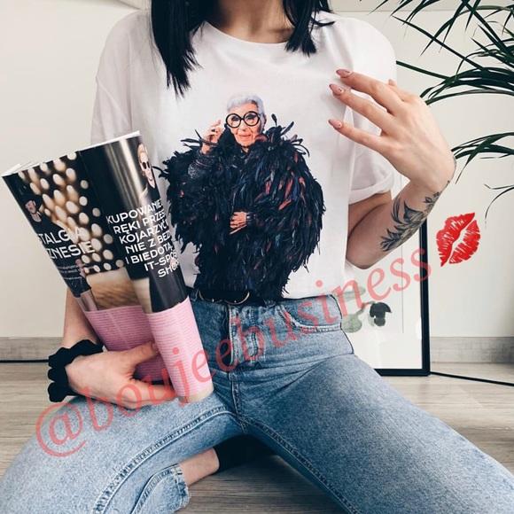 4ddd1ad55 Zara Tops   Front Print Shirt   Poshmark